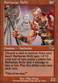 Barbarian Bully - Judgment