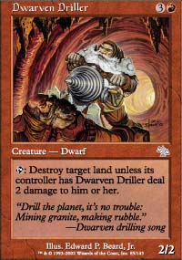 Dwarven Driller - Judgment