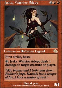 Jeska, Warrior Adept - Judgment