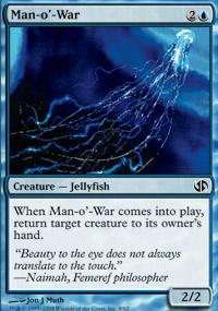 Man-o'-War - Jace vs. Chandra