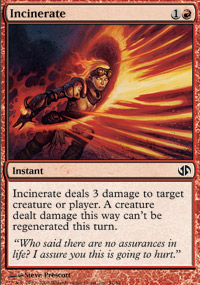 Incinerate - Jace vs. Chandra