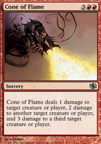Cone of Flame - Jace vs. Chandra