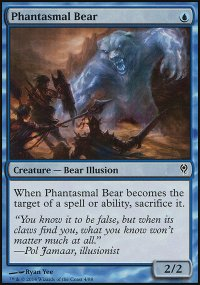 Phantasmal Bear - Jace vs. Vraska