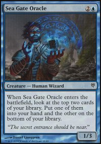 Sea Gate Oracle - Jace vs. Vraska