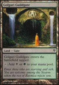 Golgari Guildgate - Jace vs. Vraska