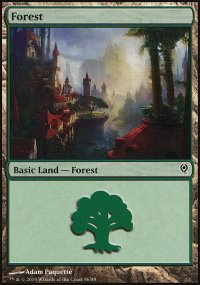 Forest 3 - Jace vs. Vraska