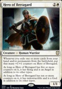 Hero of Bretagard - Kaldheim Commander Decks