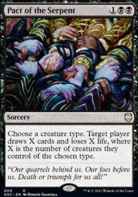 Pact of the Serpent - Kaldheim Commander Decks