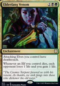 Elderfang Venom - Kaldheim Commander Decks
