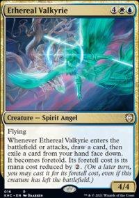 Ethereal Valkyrie - Kaldheim Commander Decks