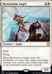 Restoration Angel - Kaldheim Commander Decks