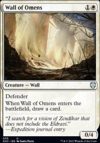 Wall of Omens - Kaldheim Commander Decks