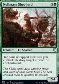 Nullmage Shepherd - Kaldheim Commander Decks