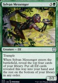 Sylvan Messenger - Kaldheim Commander Decks