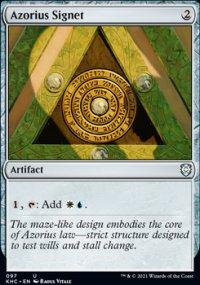 Azorius Signet - Kaldheim Commander Decks