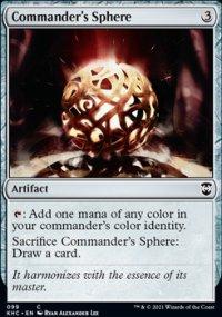 Commander's Sphere - Kaldheim Commander Decks