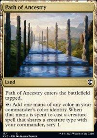 Path of Ancestry - Kaldheim Commander Decks