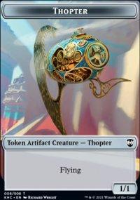 Thopter - Kaldheim Commander Decks