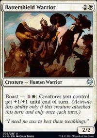 Battershield Warrior -