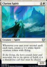 Clarion Spirit - Kaldheim