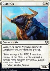 Giant Ox -