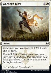 Warhorn Blast -
