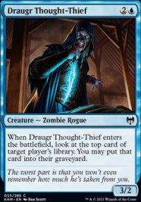 Draugr Thought-Thief - Kaldheim