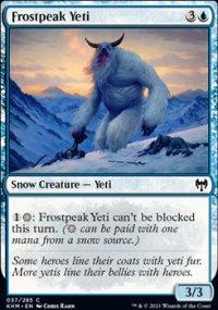 Frostpeak Yeti -