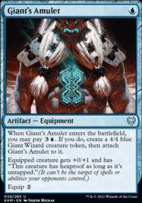 Giant's Amulet -