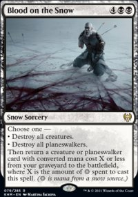 Blood on the Snow -