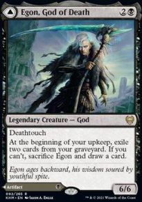 Egon, God of Death 1 - Kaldheim