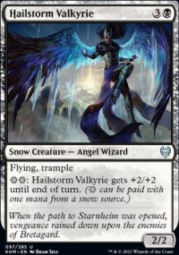 Hailstorm Valkyrie -