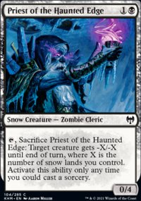 Priest of the Haunted Edge -