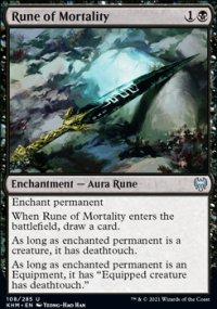 Rune of Mortality -