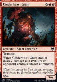 Cinderheart Giant -