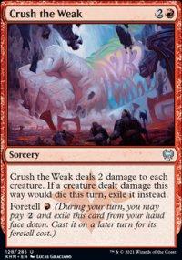 Crush the Weak -