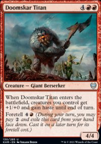 Doomskar Titan - Kaldheim