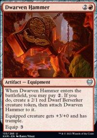 Dwarven Hammer -