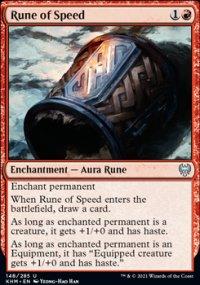 Rune of Speed -