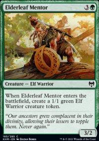 Elderleaf Mentor - Kaldheim