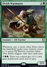 Elvish Warmaster -