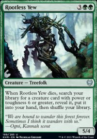Rootless Yew -