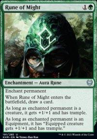 Rune of Might -