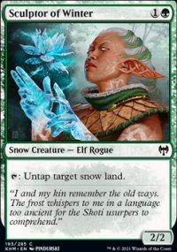 Sculptor of Winter -