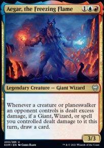 Aegar, the Freezing Flame -