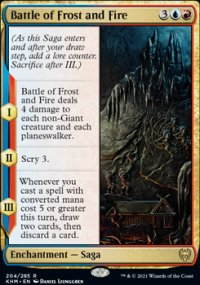 Battle of Frost and Fire -