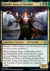 Harald, King of Skemfar 1 - Kaldheim