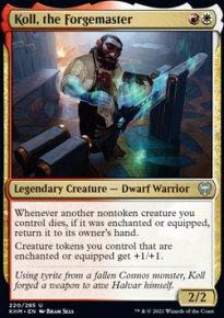 Koll, the Forgemaster -