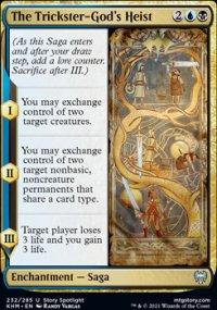 The Trickster-God's Heist - Kaldheim