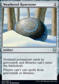 Weathered Runestone -